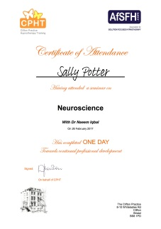 neuroscience-certificate